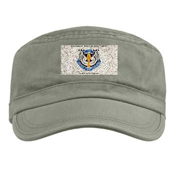 HHC166AB - A01 - 01 - HHC - 166th Aviation Brigade with Text - Military Cap