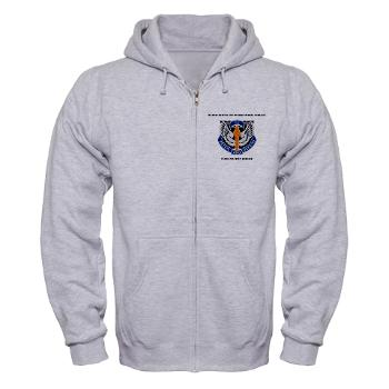 HHC166AB - A01 - 03 - HHC - 166th Aviation Brigade with Text - Zip Hoodie