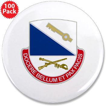 "HHC181IB - M01 - 01 - DUI - HHC - 181 Infantry Bde 3.5"" Button (100 pack)"