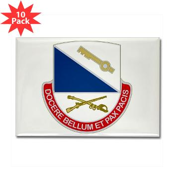 HHC181IB - M01 - 01 - DUI - HHC - 181 Infantry Bde Rectangle Magnet (10 pack)