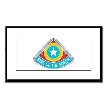 HHC205IB - M01 - 02 - HHC - 205th Infantry Brigade - Small Framed Print