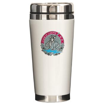 HHD - M01 - 04 - Headquarters and Headquarters Detachment - Ceramic Travel Mug