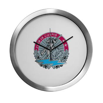HHD - M01 - 04 - Headquarters and Headquarters Detachment - Modern Wall Clock
