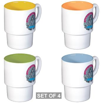 HHD - M01 - 04 - Headquarters and Headquarters Detachment - Stackable Mug Set (4 mugs)