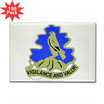 HQHHD157IB - M01 - 01 - HQ and HHD - 157th Infantry Brigade - Rectangle Magnet (100 pack)