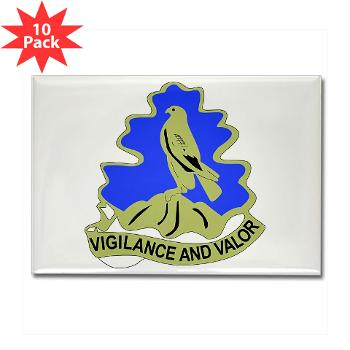 HQHHD157IB - M01 - 01 - HQ and HHD - 157th Infantry Brigade - Rectangle Magnet (10 pack)