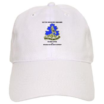 HQHHD157IB - A01 - 01 - HQ and HHD - 157th Infantry Brigade with Text Cap