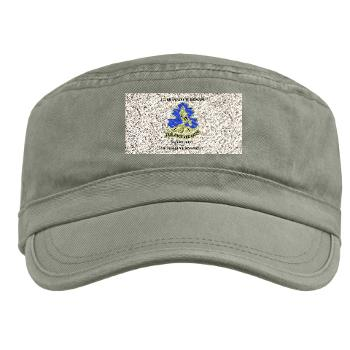 HQHHD157IB - A01 - 01 - HQ and HHD - 157th Infantry Brigade with Text Military Cap