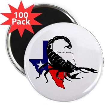 "HRB - M01 - 01 - DUI - Houston Recruiting Battalion - 2.25"" Magnet (100 pack)"