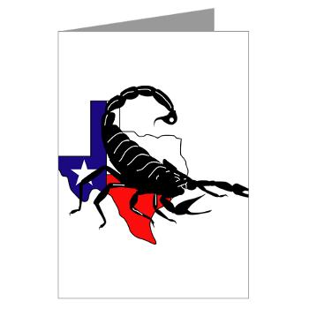 HRB - M01 - 02 - DUI - Houston Recruiting Battalion - Greeting Cards (Pk of 10)