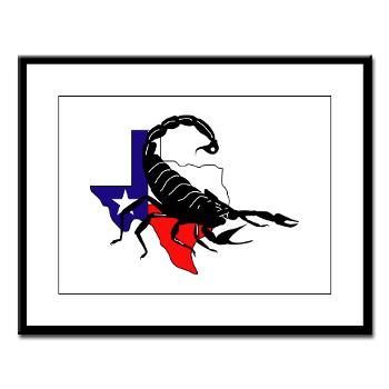 HRB - M01 - 02 - DUI - Houston Recruiting Battalion - Large Framed Print