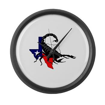 HRB - M01 - 04 - DUI - Houston Recruiting Battalion - Large Wall Clock