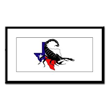 HRB - M01 - 02 - DUI - Houston Recruiting Battalion - Small Framed Print