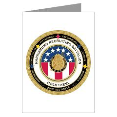 HRB - M01 - 02 - DUI - Harrisburg Recruiting Battalion - Greeting Cards (Pk of 10)
