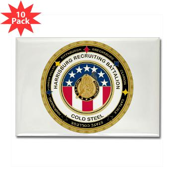 HRB - M01 - 01 - DUI - Harrisburg Recruiting Battalion - Rectangle Magnet (10 pack)
