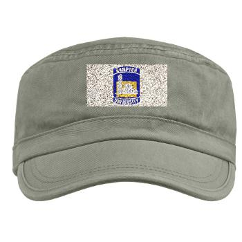 HU - A01 - 01 - ROTC - Hampton University - Military Cap
