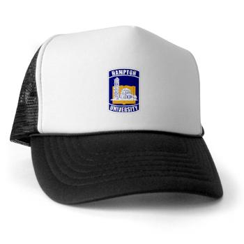 HU - A01 - 02 - ROTC - Hampton University - Trucker Hat