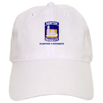 HU - A01 - 01 - ROTC - Hampton University with Text - Cap