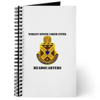 HWOCC - M01 - 02 - DUI - Warrant Officer Career Center - Headquarters with Text - Journal