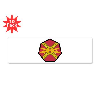 IMCOM - M01 - 01 - SSI - Installation Management Command - Sticker (Bumper 10 pk)
