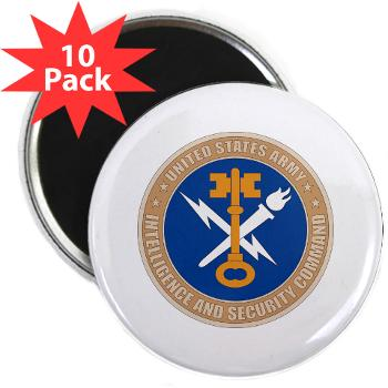 "INSCOM - M01 - 01 - SSI - U.S. Army Intelligence and Security Command (INSCOM) - 2.25"" Magnet (10 pack)"