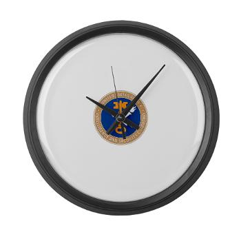INSCOM - M01 - 03 - SSI - U.S. Army Intelligence and Security Command (INSCOM) - Large Wall Clock