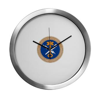 INSCOM - M01 - 03 - SSI - U.S. Army Intelligence and Security Command (INSCOM) - Modern Wall Clock