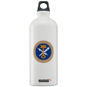 INSCOM - M01 - 03 - SSI - U.S. Army Intelligence and Security Command (INSCOM) - Sigg Water Bottle 1.0L