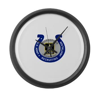 IRB - M01 - 03 - DUI - Indianapolis Recruiting Battalion - Large Wall Clock