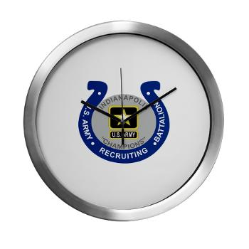 IRB - M01 - 03 - DUI - Indianapolis Recruiting Battalion - Modern Wall Clock