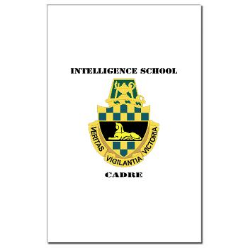 ISC - M01 - 02 - DUI - Intelligence School Cadre with Text - Mini Poster Print