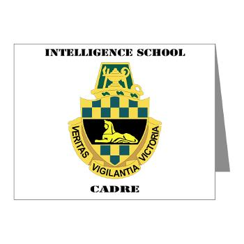 ISC - M01 - 02 - DUI - Intelligence School Cadre with Text - Note Cards (Pk of 20)