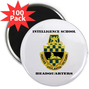 ISH - M01 - 01 - DUI - Intelligence School Headquarters with Text - 2.25 Magnet (100 pack)