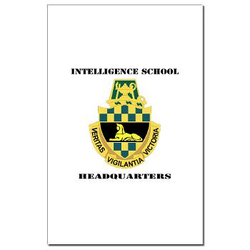ISH - M01 - 02 - DUI - Intelligence School Headquarters with Text - Mini Poster Print