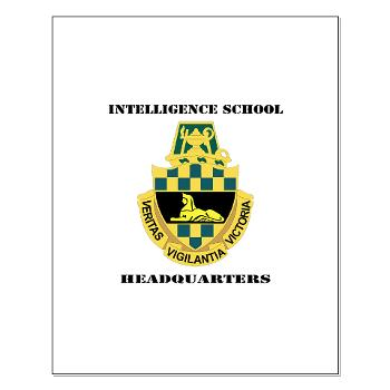 ISH - M01 - 02 - DUI - Intelligence School Headquarters with Text - Small Poster