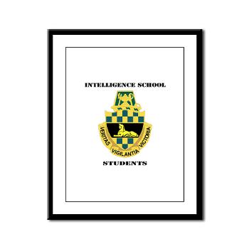 ISS - M01 - 02 - DUI - Intelligence School Students with Text - Framed Panel Print