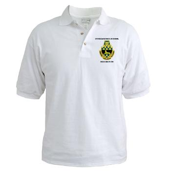 ISS - A01 - 04 - DUI - Intelligence School Students with Text - Golf Shirt