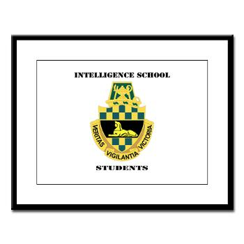 ISS - M01 - 02 - DUI - Intelligence School Students with Text - Large Framed Print