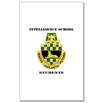 ISS - M01 - 02 - DUI - Intelligence School Students with Text - Mini Poster Print