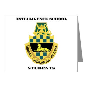 ISS - M01 - 02 - DUI - Intelligence School Students with Text - Note Cards (Pk of 20)