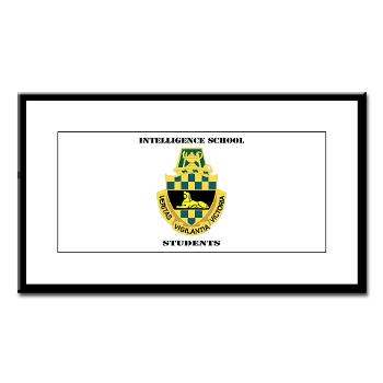 ISS - M01 - 02 - DUI - Intelligence School Students with Text - Small Framed Print