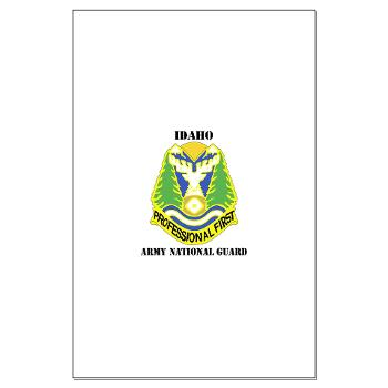 dahoARNG - M01 - 02 - DUI - Idaho Army National Guard with text - Large Poster