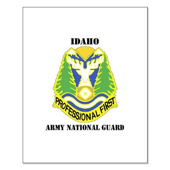 dahoARNG - M01 - 02 - DUI - Idaho Army National Guard with text - Small Poster