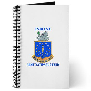 IndianaARNG - M01 - 02 - DUI - Indiana Army National Guard with text - Journal