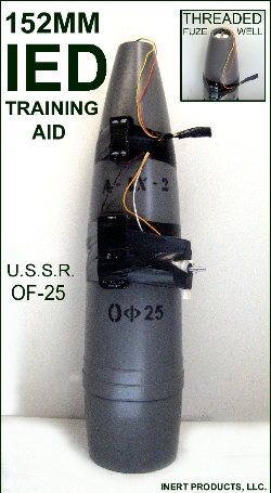Inert IED, 152mm Artillery Projectile Training Aid