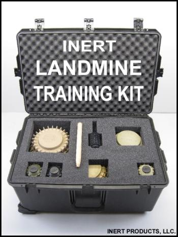 Inert, Landmine Training Kit - With STORM Case