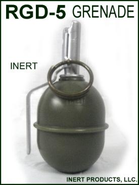 Inert, RGD-5 Grenade