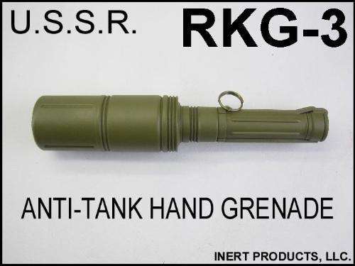 Inert, RKG-3 Anti-Tank Hand Grenade Replica
