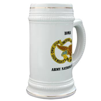 IowaARNG - M01 - 03 - DUI - IOWA Army National Guard with Text - Stein