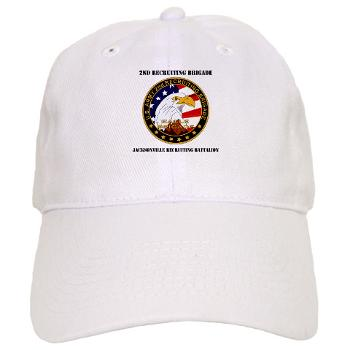 JRB - A01 - 01 - DUI - Jacksonville Recruiting Battalion with Text - Cap
